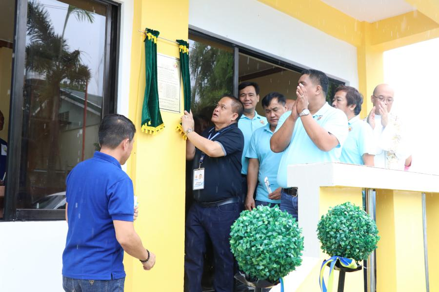 Inauguration of New Barangay Hall of Coral na Bato