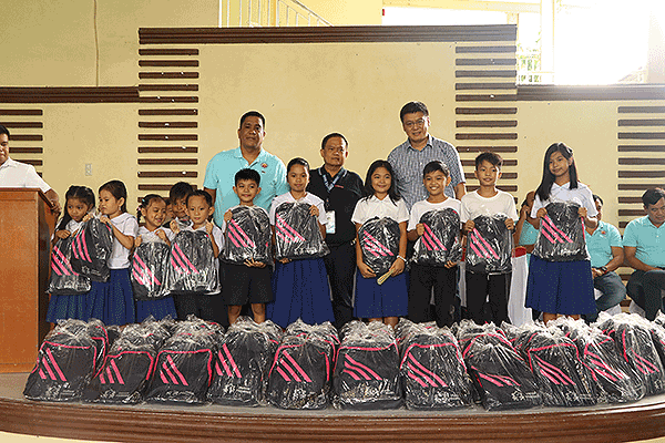 Distribution of School Supplies – Sampaloc Elementary School